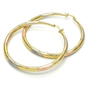 14K Gold Filled Hoops (FJ2011)
